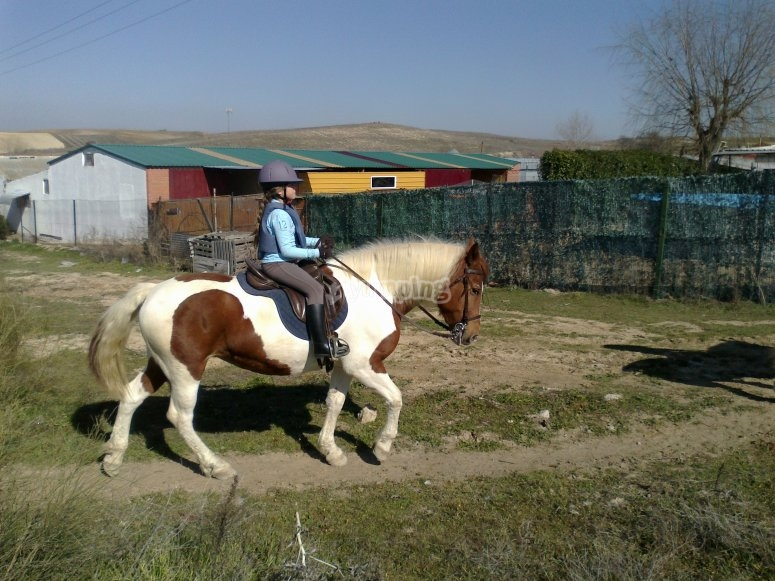 alumna equitacion