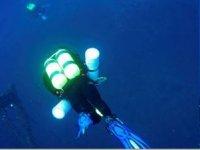 经验丰富的潜水员