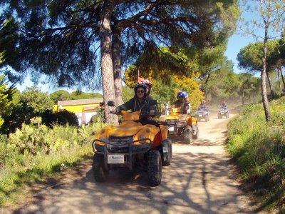 Ruta en quad biplaza Pinares Cartaya, 1 h y 30 min