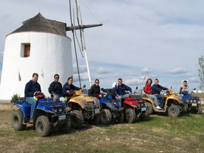 Smuggler Two-Seater Quad Route+Lunch+SPA