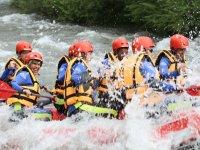 Rafting desayuno y alojamiento en El Pont de Suert