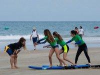 Mejorando la tecnica de surf