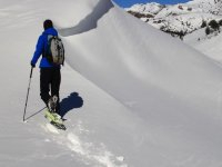Tourism winter in the Pyrenees