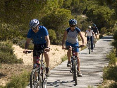 Percorso in mountain bike Lagunas del Portil 2 ore