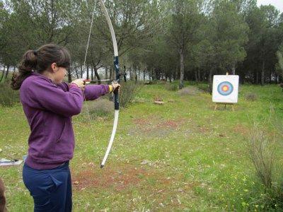 Tiro con arco, cerbatana y tira flechas, Córdoba