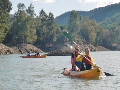 kayak for groups Guadiato or Guadlmellato