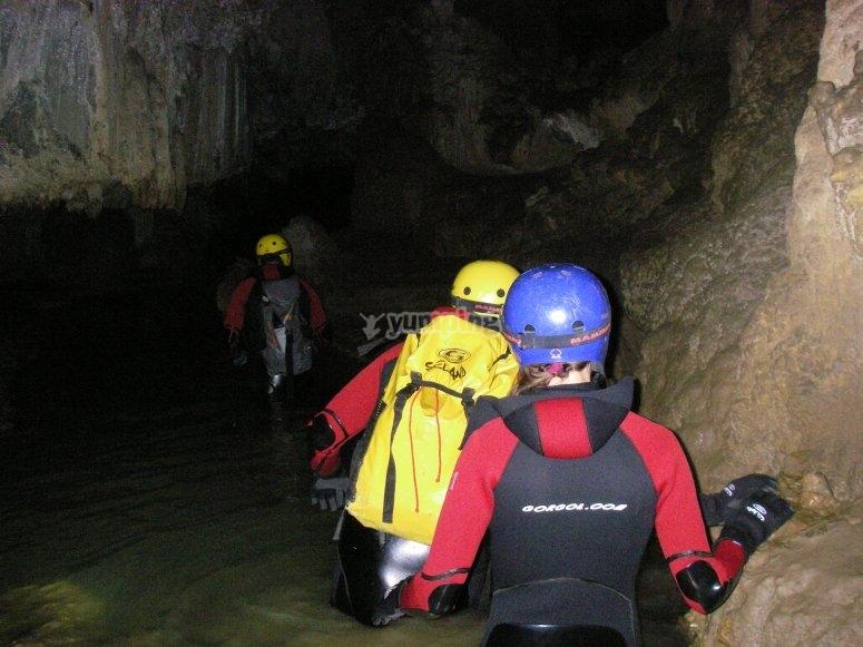 El Moro's cave