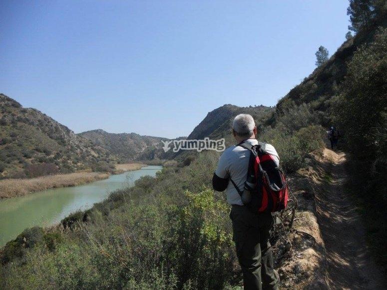 Senderismo junto al rio