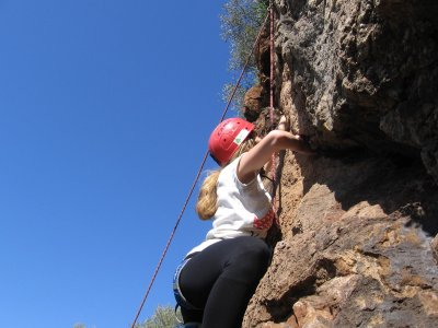 Climbing & abseiling for scholar groups, Córdoba