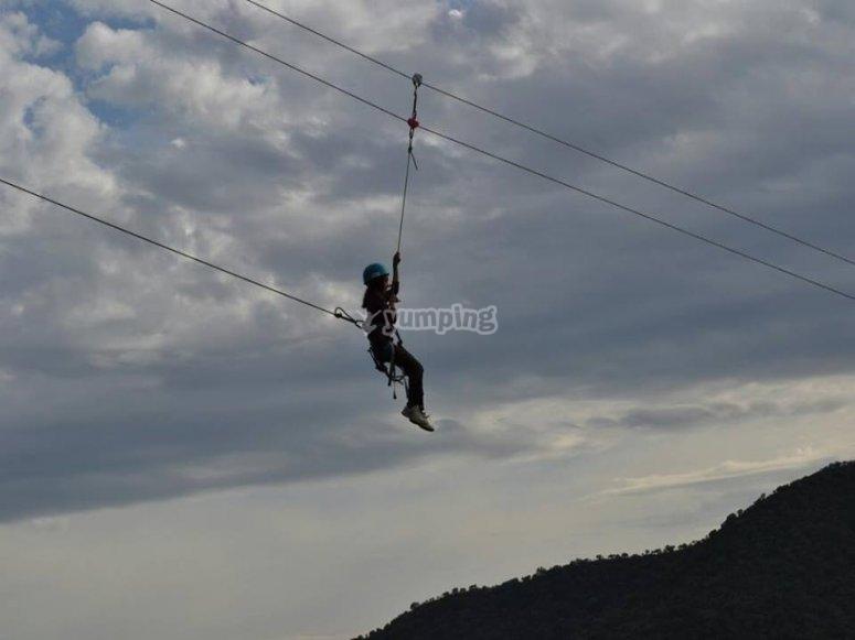 Zip line per bambini