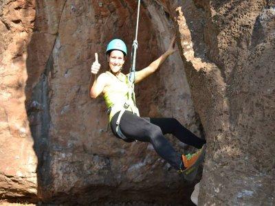 登山,绳降,徒步旅行和高空滑索,学校