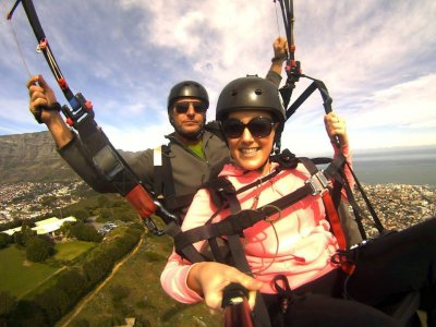 Two-seater paraglider flight, Alicante 30 min