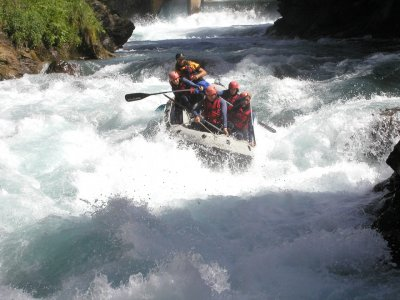 Rafting sul fiume Gállego Family Child Child
