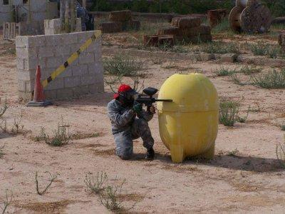 Paintball a San Vicente de Raspeig con 200 palline