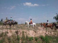 Ruta mañanera a caballo