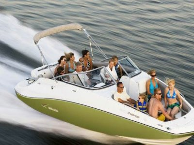 Recreational boat trip Sea-Doo kids 1h