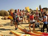 Clases de canoas en El Barraco
