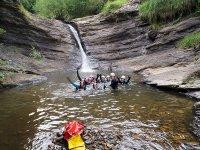 Canyoning baptism, Chorretones + GoPro video