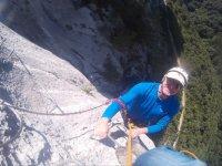 Ascension por la ladera