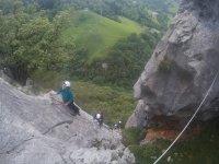 Bifurcación de la montaña
