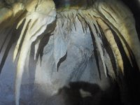 Detalle de la cueva