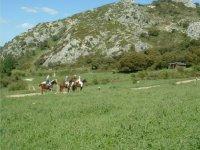 Godersi un giro a cavallo