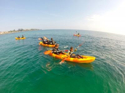 Ruta en kayak Noja 2h