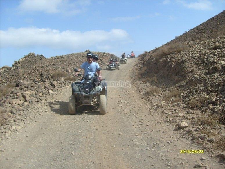 Excursion en quad en Fuerteventura