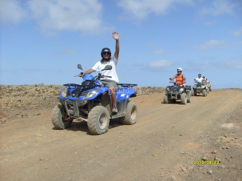 Tour en quad por Fuerteventura