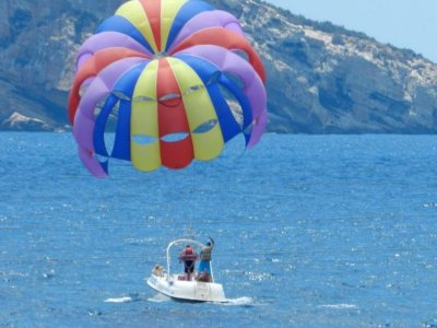 Parascending for 2 people in Benidorm,15 min