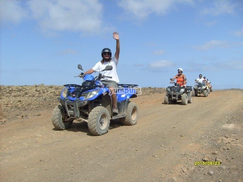 Tour en quad