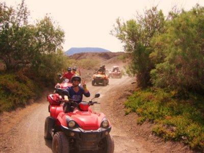 Excursión en quad individual por la Costa Calma 3h
