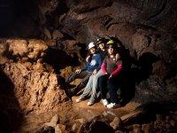 Foto en el interior de la cueva
