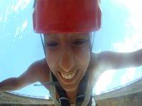 与瓦伦西亚附近的GoPro视频蹦极