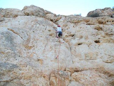Escalada en Elche, Alicante, 4 horas