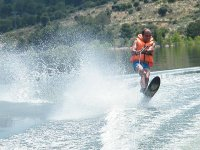 Wakeboard en el embalse