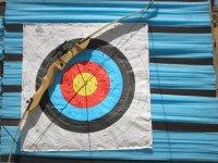 标志Navillas射箭彩弹