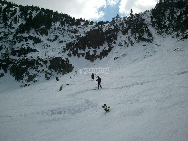 Tour con raquetas de nieve Gerona