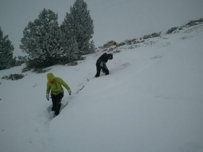 Bautismo con raquetas de nieve en Vallter 2000 4h