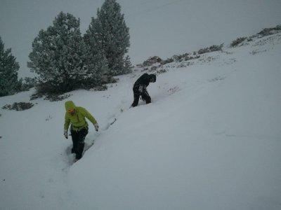 晚上雪鞋行走路线Vallter 2000 4h