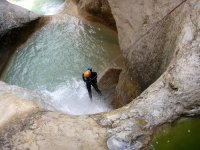 Initiation to canyoning in Huelva
