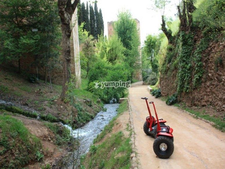 Segways en Granada