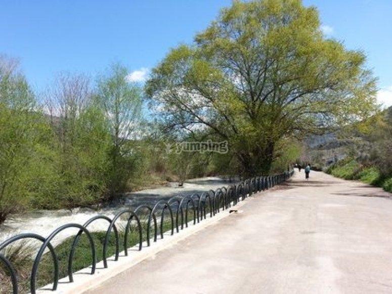 Bici eléctrica en Sierra Nevada