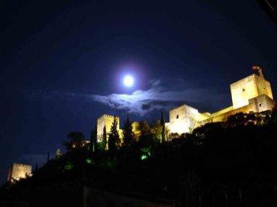 Ruta nocturna en bici eléctrica por Granada, 2h.