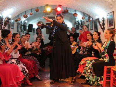 Ruta en bici eléctrica y espectáculo flamenco
