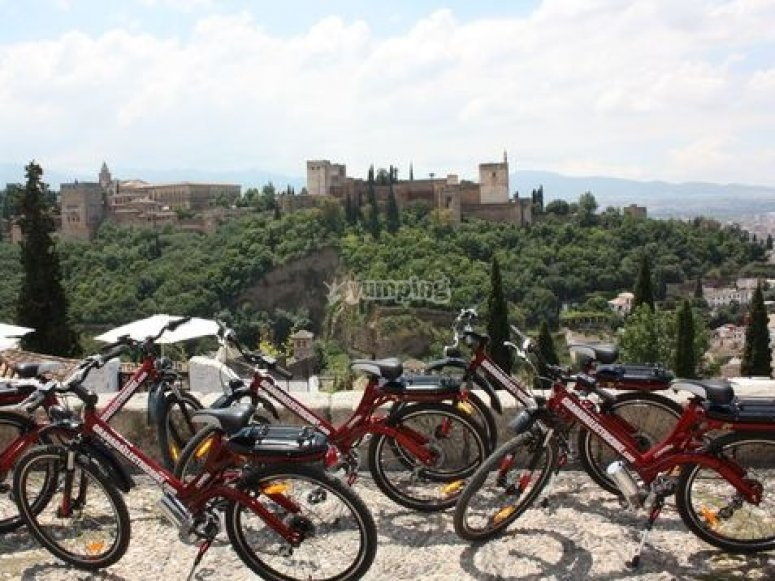 Gruppo di bici elettriche