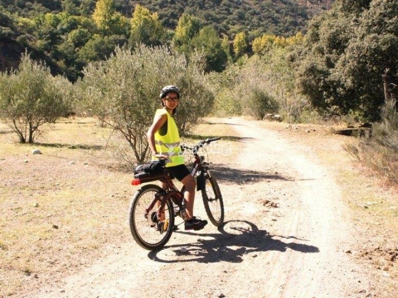 Goditi la giornata in bici