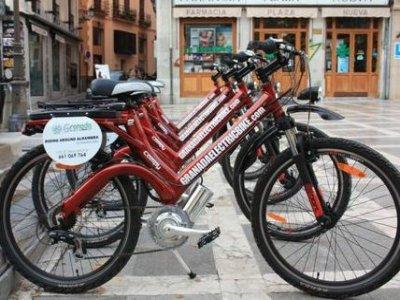 Alquiler bicicleta eléctrica día completo, Granada