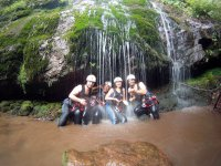 Photo in the waterfall