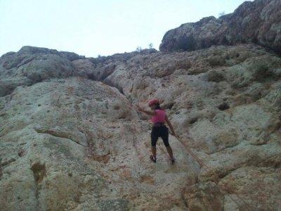 Curso de escalada y rápel en Alfaz de Pi, un día